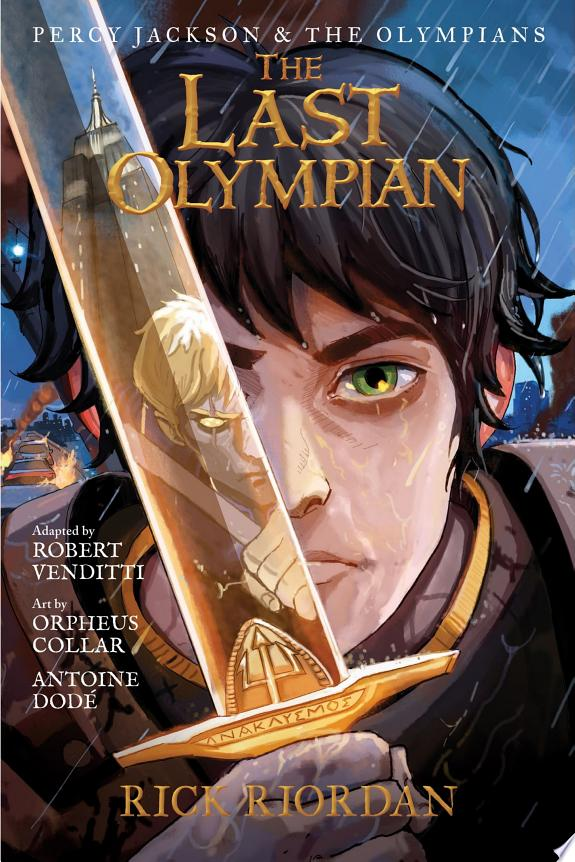 The Percy Jackson and the Olympians: Last Olympian: The Graphic Novel